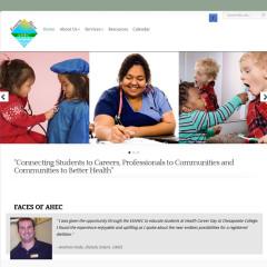 Eastern Shore Area Health Education Center Website Design